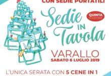 "Photo of A Varallo ""Sedie in tavola"""